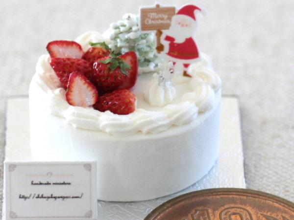 Christmas miniature ミニチュア クリスマスケーキ