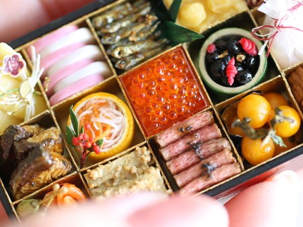 miniature ミニチュア おせち 食品サンプル