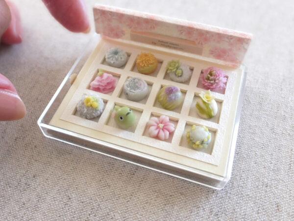 miniature 和菓子 上生菓子 ミニチュア