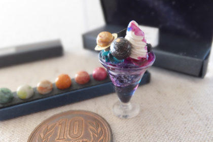 parfait chocolate miniature ミニチュア パフェ