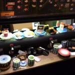 ミニチュア ドールハウス 回転寿司  カウンター 食品サンプル