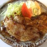 ミニチュア 食品サンプル 生姜焼き