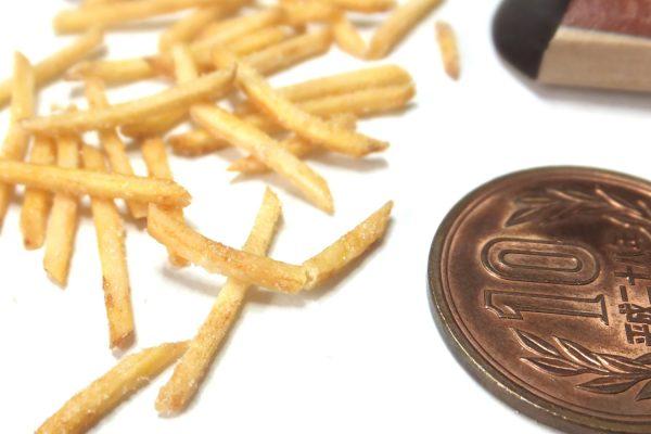 hamburger ミニチュアフード フライドポテト