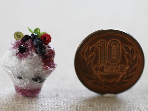 ミニチュア かき氷 ベリー