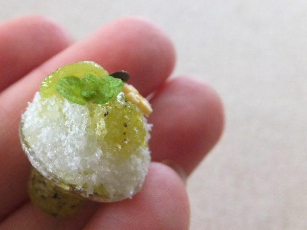 ミニチュア かき氷 キウイ