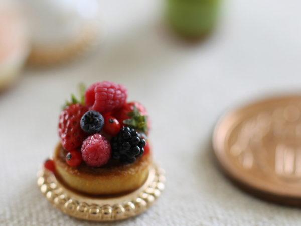 ミニチュアフード ケーキ ミニチュア 粘土