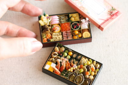 ミニチュア 食品サンプル 和 おせち