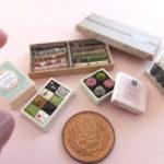 miniature chocolate Valentine