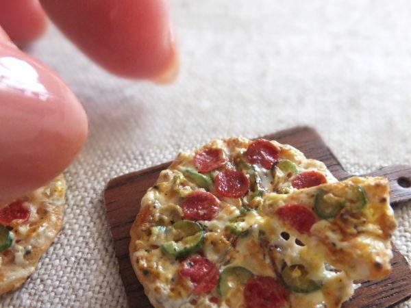 ミニチュア ピザ miniature pizza