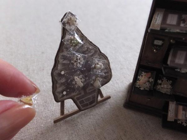 miniature ミニチュア アイシングクッキー christmas