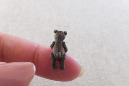 ミニチュア テディベア teddybear miniature