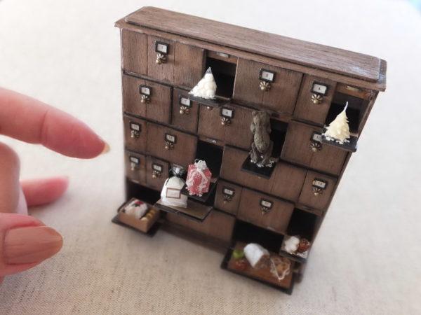 ミニチュア アドベントカレンダー Advent calendar miniature