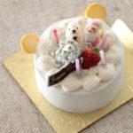 ミニチュア クマ クリスマスケーキ