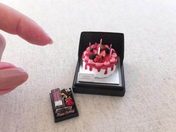 miniature cake birthday christmas