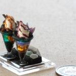 miniature parfait handmade ミニチュア 鉱物 パフェ 化石