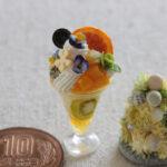 miniature fruit ミニチュア パフェ