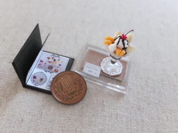 miniature ミニチュア パフェ レトロ 喫茶店