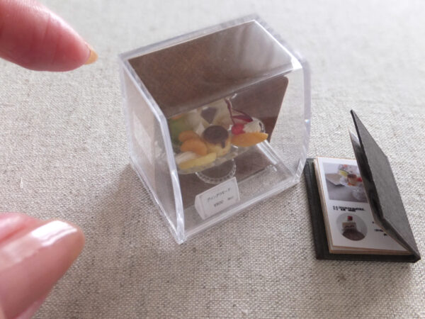 miniature ミニチュア プリンアラモード レトロ 喫茶店