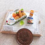 ミニチュア 新幹線 お子様ランチ miniature